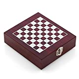 Oramics 2in1 Weinzubehör und Schachspiel Box für Weinliebhaber und Sommeliers...