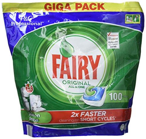 fairy spuelmaschinentabs Fairy 523544 - Kapseln für SpÜlmaschine 100 Stück