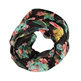 Pokemon Floral Infinity Viscose Scarf by Bioworld