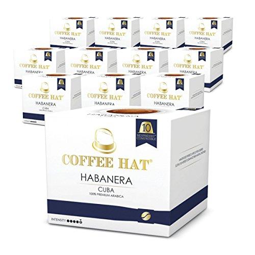 9c76c8fe3ad COFFEE HAT - HABANERA - Cuba (Pack 120 Capsules Nespresso Compatible)