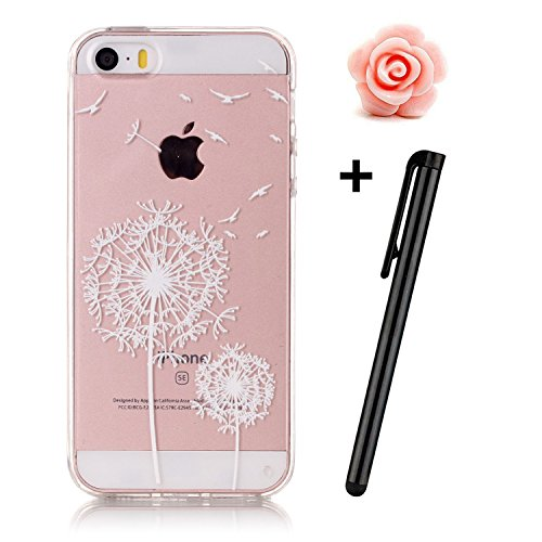 iphone-5-5s-clear-casetransparent-rubber-case-for-iphone-setoyym-colorful-flower-animal-girl-series-