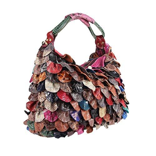 OBC Only-Beautiful-Couture , Sac à main pour femme Multicolore Multicolor 40x30x16 cm (BxHxT)