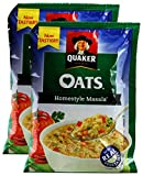 #3: Big Bazaar Combo - Quaker Oats Home Style Masala, 40g (Pack of 2) Promo Pack