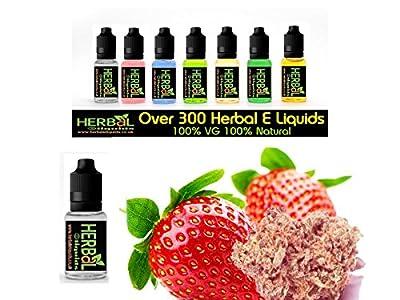 Strawberry Rush Weed Herbal E Liquids 30ml 100% VG 0 mg Nikotin von Herbal E Liquids