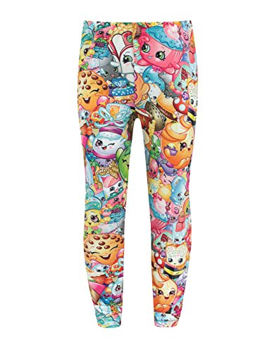 Noisy Sauce Official Shopkins Collage Girl's Leggings (5-6 Years)