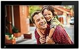 NIX Advance Marco Digital de Fotos y Videos 13 Pulgadas. Marco de Fotos Digital USB, SD/SDHC con Sensor de Movimiento. Portafotos Digital Pantalla IPS Full HD. 8 GB USB Incluido. X13C
