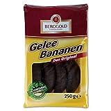 Produkt-Bild: Berggold Gelee Bananen 2er Pack (2 x 250 g) Gelee mit Bananengeschmack mit Schokoladenüberzug Glutenfrei