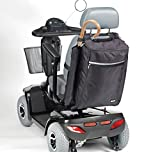 Drive Medical Crutch & Walking Stick Bag For Mobility Scooter (Black) by Drive Medical