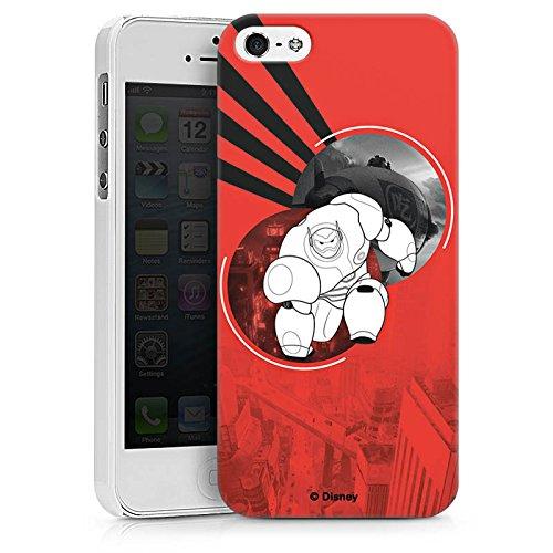 Apple iPhone X Silikon Hülle Case Schutzhülle Disney Baymax Merchandise Hard Case weiß
