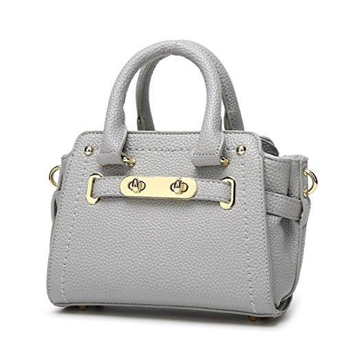 GBT Die neue Art- und Weiseminihandtaschen-Schulter-Beutel light gray
