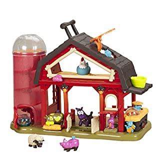 B toys by Battat - Baa-Baa-Barn Musical Farm Set - Interactive Animal Farm with 4 Animals and 2 Rattle Balls for Kids 2+ (7pcs) (B00J63IWVQ) | Amazon price tracker / tracking, Amazon price history charts, Amazon price watches, Amazon price drop alerts