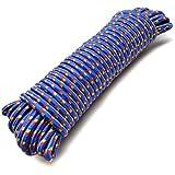 12mm x 30 m corde utilitaire multi-usage corde de nylon Camping Jardins de la voile TE475