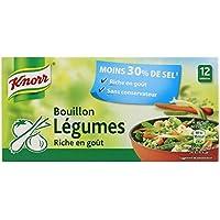 Knorr bouillon de légumes réduit en sel 109g - Precio por unidad