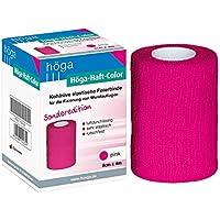 Höga Color pink 8 cm x 4 m gedehnt - Sonderedition kohäsive selbsthaftende elastische Fixierbinde für die Fixierung... preisvergleich bei billige-tabletten.eu