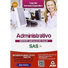 Administrativo del Servicio Andaluz de Salud. Test (Andalucia (mad))
