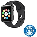 Konarrk A1 Bluetooth Smart Watch With Camera And Apps Like Facebook, Whatsapp, QQ, WeChat, Twitter, Health, Pedometer, Sedentary Remind Suitable With All Android Or Iphone Devices (Color May Vary)