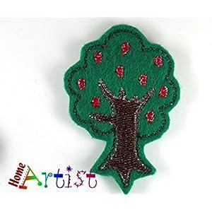 Baum Haarspange - freie Farbwahl