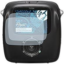 Bruni Fujifilm Instax Square SQ10 Film Protecteur - 2 x cristal clair Film Protection d'écran Protecteur d'écran