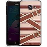Samsung Galaxy A3 (2016) Housse Étui Protection Coque Mode Cuir Brides Eclisses Rabats