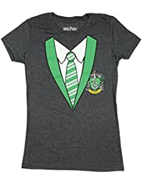 Harry Potter Juniors House Costume Heather Grey T-Shirt