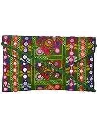 Utsav Women's Multicolour Sling Bag (Utsav 118)