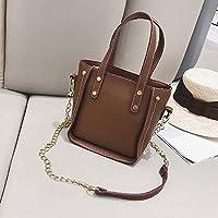 186800ad0f444 Damentasche Stilvolle Retro-Einzelzimmer Schräge Quadratische Tasche  Einfache Wilde Weibliche Tasche Damen-Messenger-