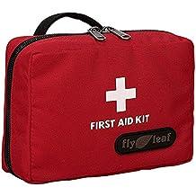 Viaggio Portatile Campeggio Sopravvivenza di Emergenza Medica vuoto all'aperto Casa Pronto Soccorso Kit Borsa Waist Bag Pouch Mano Borsa Rosso