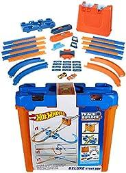 Hot Wheels - Track Buider Caja de Acrobacias Deluxe, Accesorios para Pistas de Coches de Juguete (Mattel GGP93