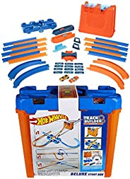 Hot Wheels GGP93 - Deluxe Stunt Box presentset 4,5 meter bana 36 delar bankopplingar och kurvor