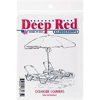 Deep Red Stamps–Sello, Multicolor, 10,16x 14.47X 0,86cm, multicolor, 10.92 x 13.71 x 0.86 cm