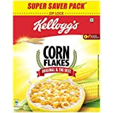 Kellogg's Corn Flakes Original, Breakfast Cereal, 875gms Pack