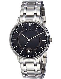 Fjord Analog Black Dial Men's Watch-FJ-3018-11
