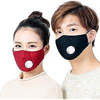 Anti Staub Gesichtsmaske Baumwolle pm2,5Anti Haze Maske Ventil Anti-Staub Mund Maske Aktivkohle Filter Atemschutzmaske... preisvergleich bei billige-tabletten.eu