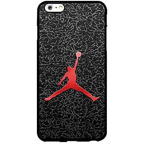 Modern iPhone 6/6s Plus Funda Carcasa Michael Jordan Brand Logo Case Cover Protector - iPhone 6 Plus 5.5 Inch