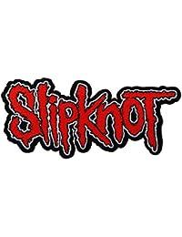 Slipknot Cut Out Logo Aufnäher Patch Gewebt & Lizenziert !!
