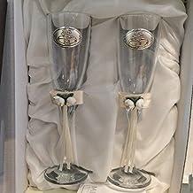 Copas para boda 25 aniversario grabadas