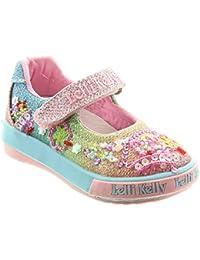 7255bcbc Lelli Kelly Kids LK5018 Tillie Bar Shoes In Multi, Multicoloured