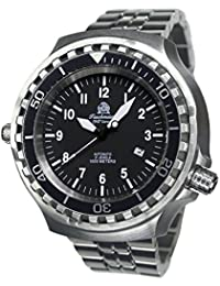 tauchme ister 52mm Automático Reloj de metal de cristal de zafiro t0286de m