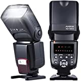 Andoer AD-560II GN50 On-camera Flash Speedlite With 16 Channels Radio Wireless Remote Flash Trigger W Adjustable LED Fill Light For Canon Nikon Olympus Pentax DSLR Cameras Only Flash