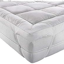 Colchoneta A&R para parte superior de colchón, microfibra, calidad de hotel, 5 cm