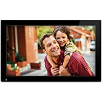 NIX Advance Digital Photo Frame 13 inch X13C. Electronic Photo Frame USB SD/SDHC. Clock & Calendar Function. 8GB USB included. Digital Picture Frame with Motion Sensor