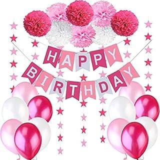 Happy Birthday Deko Pink Heimwerker Markt De