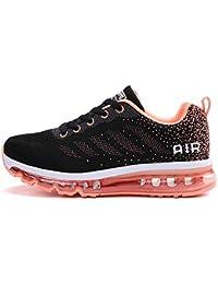 tqgold® Unisex Uomo Donna Scarpe da Ginnastica Corsa Sportive Fitness  Running Sneakers Basse Interior Casual 74b146b68b1