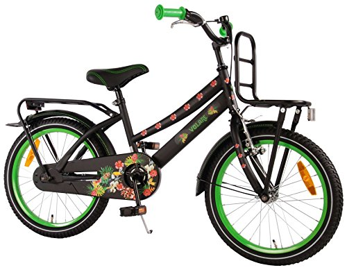 "Volare 18 18\"" Zoll Kinder Holland KINDERFAHRRAD Fahrrad MÄDCHENFAHRRAD KINDERFAHRRAD Cruiser Rad Bike Rücktrittbremse Tropical Girls"