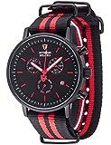 Detomaso Herren-Armbanduhr Milano Analog Quarz Edelstahl DT1052-R