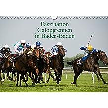 Faszination Galopprennen in Baden-Baden (Wandkalender 2018 DIN A4 quer): Galoppsport in Iffezheim, Baden-Baden (Monatskalender, 14 Seiten ) (CALVENDO Sport) [Kalender] [Apr 01, 2017] Siegele, Ralf