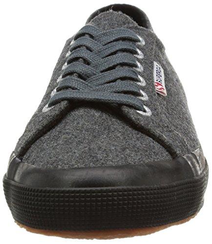 Superga 2750 Fabricw, Baskets mode femme Gris (988 Dk Grey)