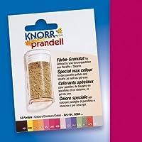 """Wachsfarbe / Färbe Granulat """"WEINROT"""" (4 g / reicht für bis zu 2 kg Wachs)"""