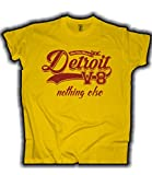 HELLMOTORS Detroit V8 American Muscle Car V8 Herren T-Shirt Gelb