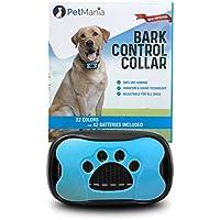 [Gesponsert]Anti-bell Hundehalsband Vibrationshundehalsband PetMania, OhneSchock, Harmlos und Human, Halsband für trainieren und gegen Bellen, 7 moderne verstellbare Stufen